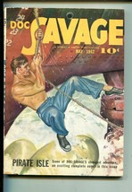 Doc Savage 05/1942-STREET & SMITH-PIRATE ISLE-vf - $212.19