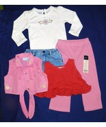 5 Items of Size 18 mo. Girls Spring and Summer Clothing - $9.99