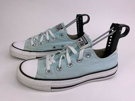 Converse All Star Low Top Chuck Taylors Women's Mint Green Shoes Size 6 image 3