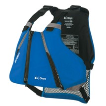Onyx MoveVent Curve Paddle Sports Life Vest - XL/2X - Blue - $54.95