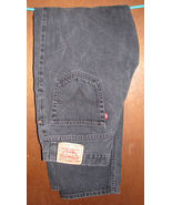 Men's Levi's 550 Relaxed Fit Black Jeans Size 36x34 - $15.99