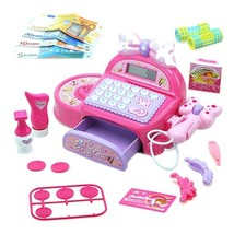 Pretend Play Toy Store Electronic Cash Register Set with Sound Effect - $20.98