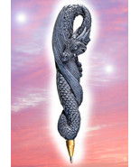 Haunted DRAGON PEN 33X WISHING COMPOSE YOUR WISH MAGICK WITCH Cassia4 - $16.50