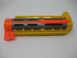 Nerf N-Strike Recon CS-6 Yellow Barrel Extension Attachment Soft Foam Da... - $8.99