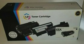 LD Q7553A 53A Black Laser Toner Cartridge for HP LaserJet M2727nf P2015d P2015dn - $22.95
