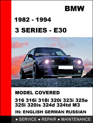 bmw e30 m3 repair manual pdf