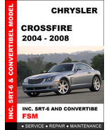 CHRYSLER CROSSFIRE 2004 2005 2006 2007 2008 FACTORY OEM SERVICE REPAIR M... - $14.95