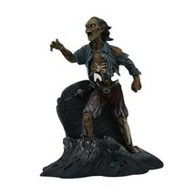 """PTC Pacific Giftware Zombie Pirate with Tombstone Statue Figurine, 8"""" H, Resin P - $35.63"""
