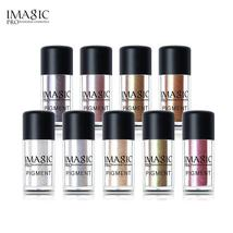 IMAGIC New Arrival Glitter Eyeshadow Metallic Loose Powder Waterproof Sh... - $4.68