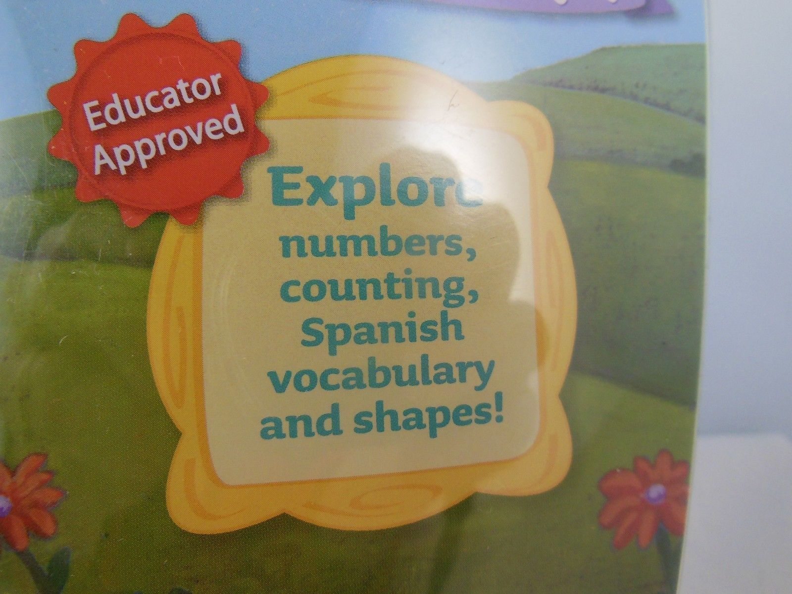 Leap Frog Tag Junior Dora the Explorer Counting 123 English /& Spanish Ages 2-4