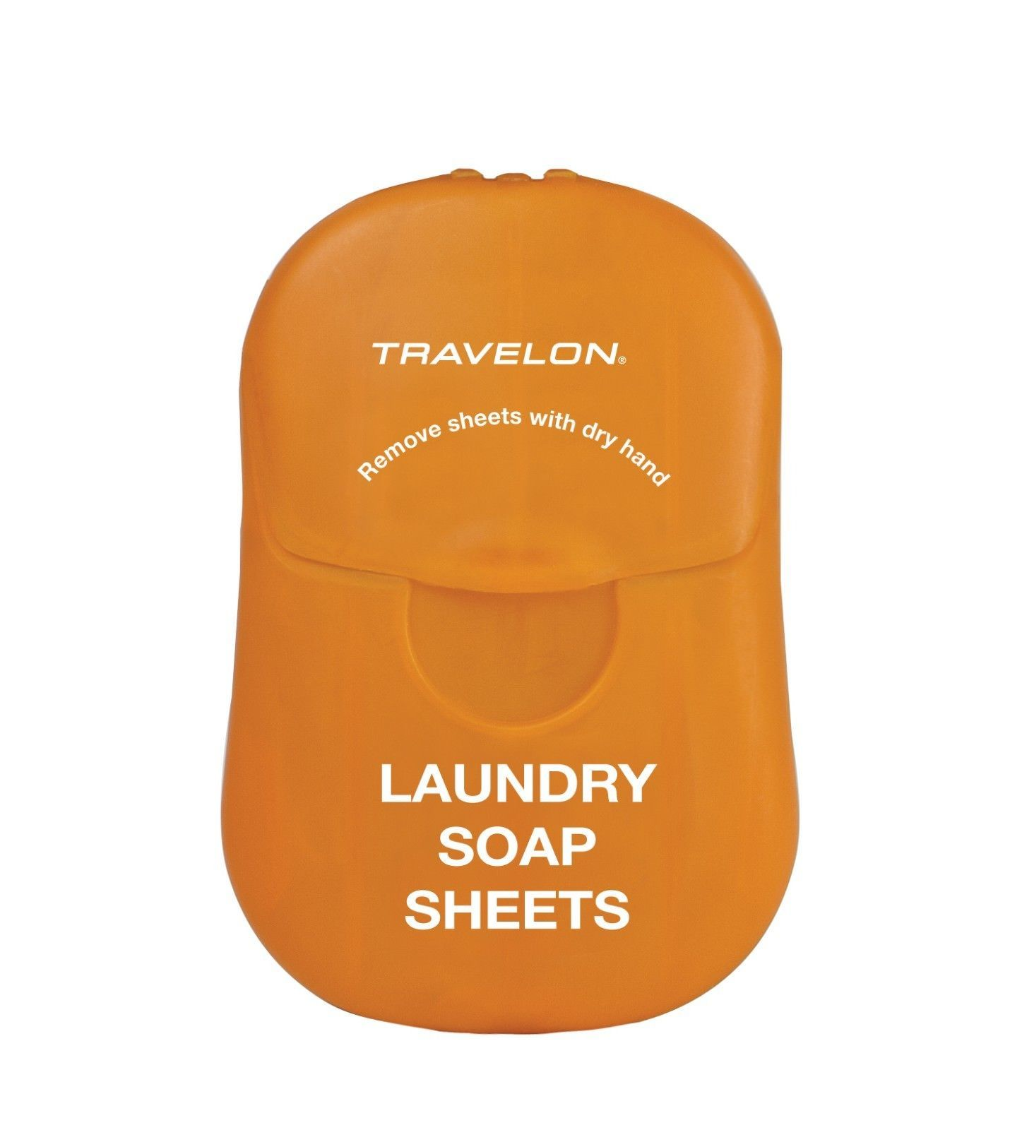 TRAVELON COMPACT SIZE TRAVEL LAUNDRY SOAP 50 SHEETS AIRLINE CARRY-ON COMPLIANT