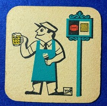 BEER MAT COASTER - TWO SIDED - WATNEYS WILSON BITTER BREWED IN THE NORTH... - $6.66