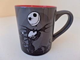 NEW The Nightmare Before Christmas Jack Skellington Black Red Gray 14 Oz... - $16.29