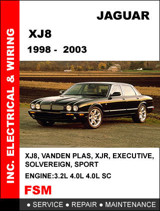 Jaguar Xj8 Repair Manual - Wiring Diagram Pictures