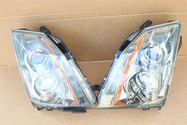 08-13 Cadillac CTS 4 door Sedan Halogen Headlight Lamp Set L&R image 3