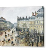 French Theater Square Paris 1898 Camille Pissarro - Ready to Hang - $91.63+