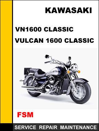 kawasaki vulcan 1600 classic service manual