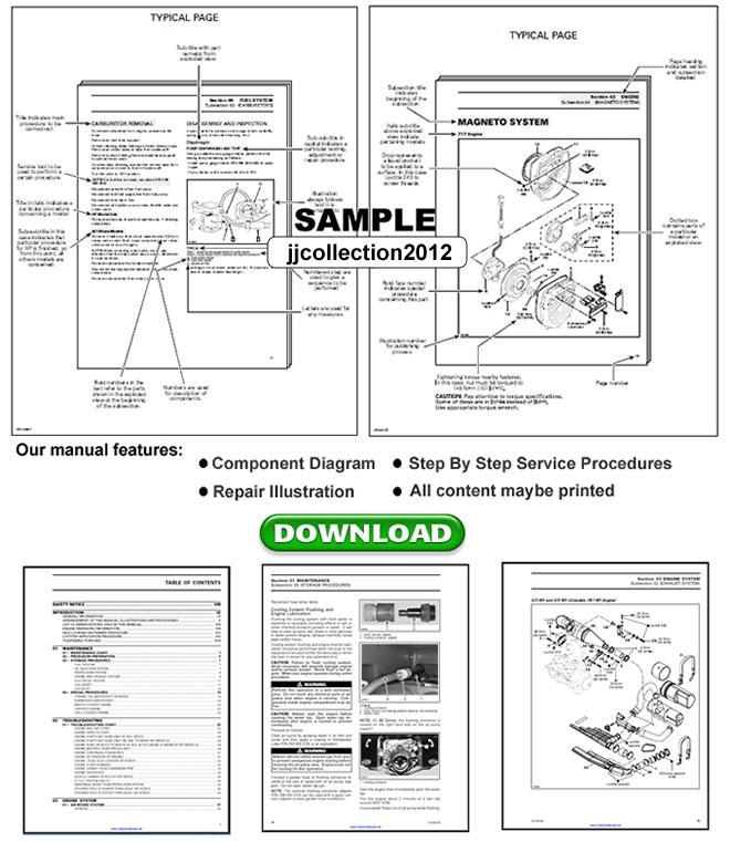 Kawasaki Klx 250 service Manual