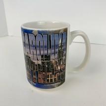 1995 Carolina Panthers Nfl Mug 11 Oz. Nfl City Skyline Cam Newton Vintage - $13.98