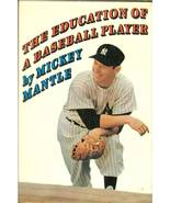 the education of a baseball player mickey mantle book new york yankees f... - $9.99