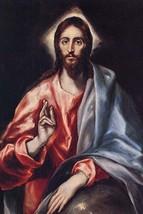 Christ the Saviour by El Greco - Art Print - $19.99+