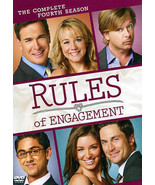 Rules of Engagement: The Complete Fourth Season (DVD, 2011, 2-Disc Set) ... - $18.99