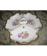 Vintage German Fine China Divided Serving Dish  - $32.40