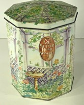 Collectors tin canister Sutter home Gazebo second in series 1992 Napa Va... - $8.90