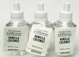 Bath & Body Works Vanille Kokosnuss Wandblume Diffusor Birnen Parfümiert - $19.40