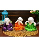 Handcrafted Laughing Baby Buddha Polyresin Showpiece for Home - $33.59