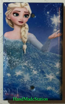 Frozen Elsa Light Switch Toggle Rocker Duplex Outlet wall Cover Plate Home decor image 2