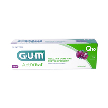 Sunstar G.U.M ActiVital  Toothpaste Fresh Mint Q10 and Pomegranate.  - $7.80