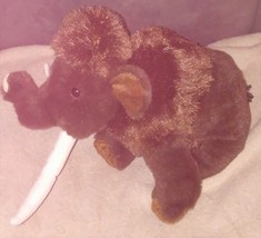 "Wild Republic Wooly Mammoth 12"" Plush Item #10964 - $14.96"