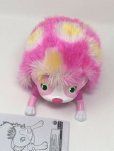 Zoomer Hedgiez Pink Yellow Hedgehog Interactive Pet Spin Master Works well - $8.42