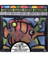 Melissa & Doug Stained Glass Paper Frames 2 Each of 10 Designs #4383 Age... - €16,88 EUR
