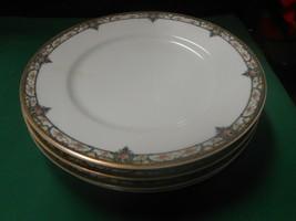 Beautiful Thomas Haviland Limoges France ..Set Of 4 Dinner Plates - $58.99