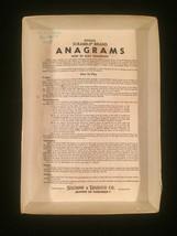 Vintage 1964 Scrabble Anagrams game- complete set image 6