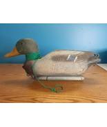 """Sport-Plast Italian Mallard Drake Duck Decoy 22"""" x 8"""" x 9.5 - $16.78"""