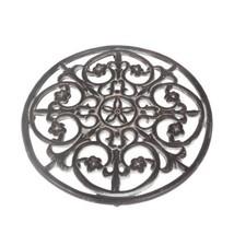 COM Amsterdam 8534 Dessous de Plat Rond diamètre : 25 cm, en Fonte Antic... - $36.22