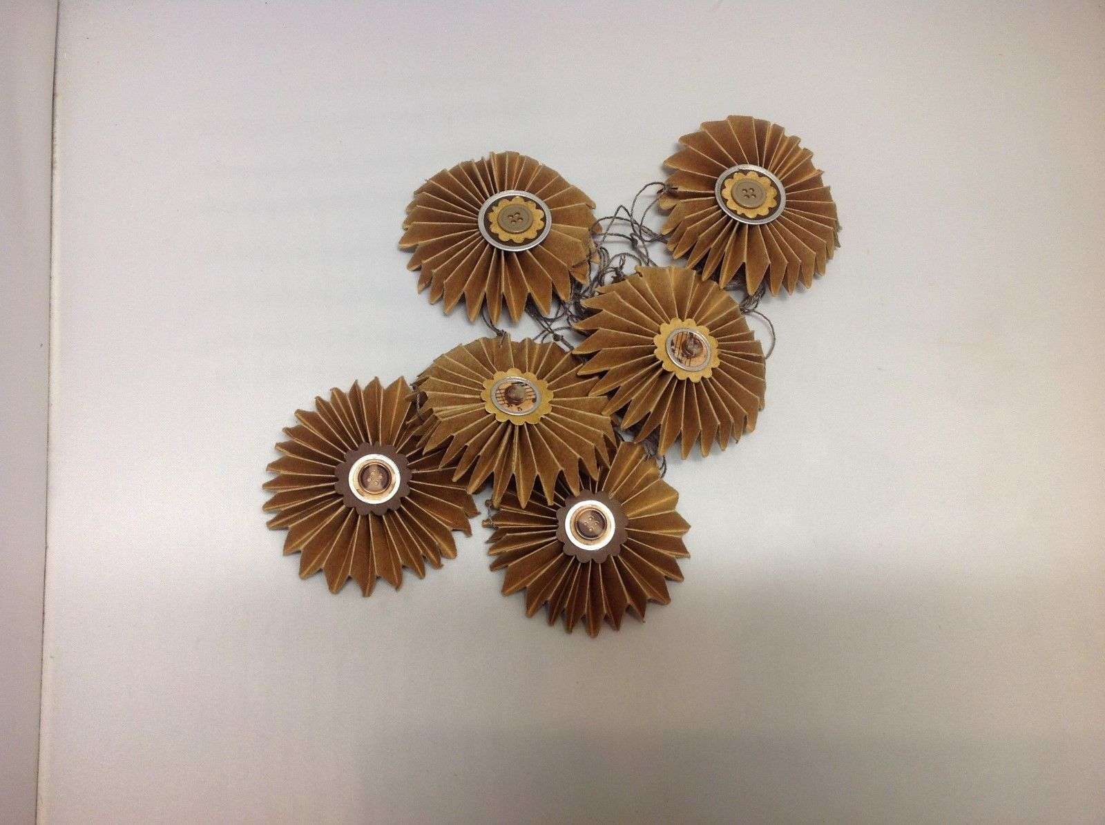 NEW Set of 6 Paper Pinwheel Decorations