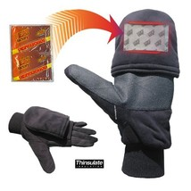 Heat Factory Gloves with Pop-Top Mittens, with Hand Heat Warmer Pockets,... - $27.55