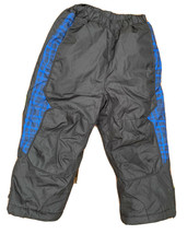 Rothschild Kids Snow Pants Boys Girls Black Blue Insulated Sz 3T Extreme... - $26.99