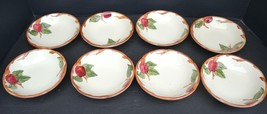 Eight Vintage Franciscan Fruit Bowls - Apple Pattern - $34.19