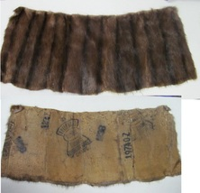 VINTAGE SIX PIECES OF FUR AND COLLARS  - $25.00