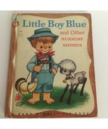 Rand McNally Elf Book Little Boy Blue and Other Nursery Rhymes Kids 1956... - $7.99