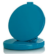 Flip 'N Beauty Folding LED Beauty Mirror , Teal - $21.77