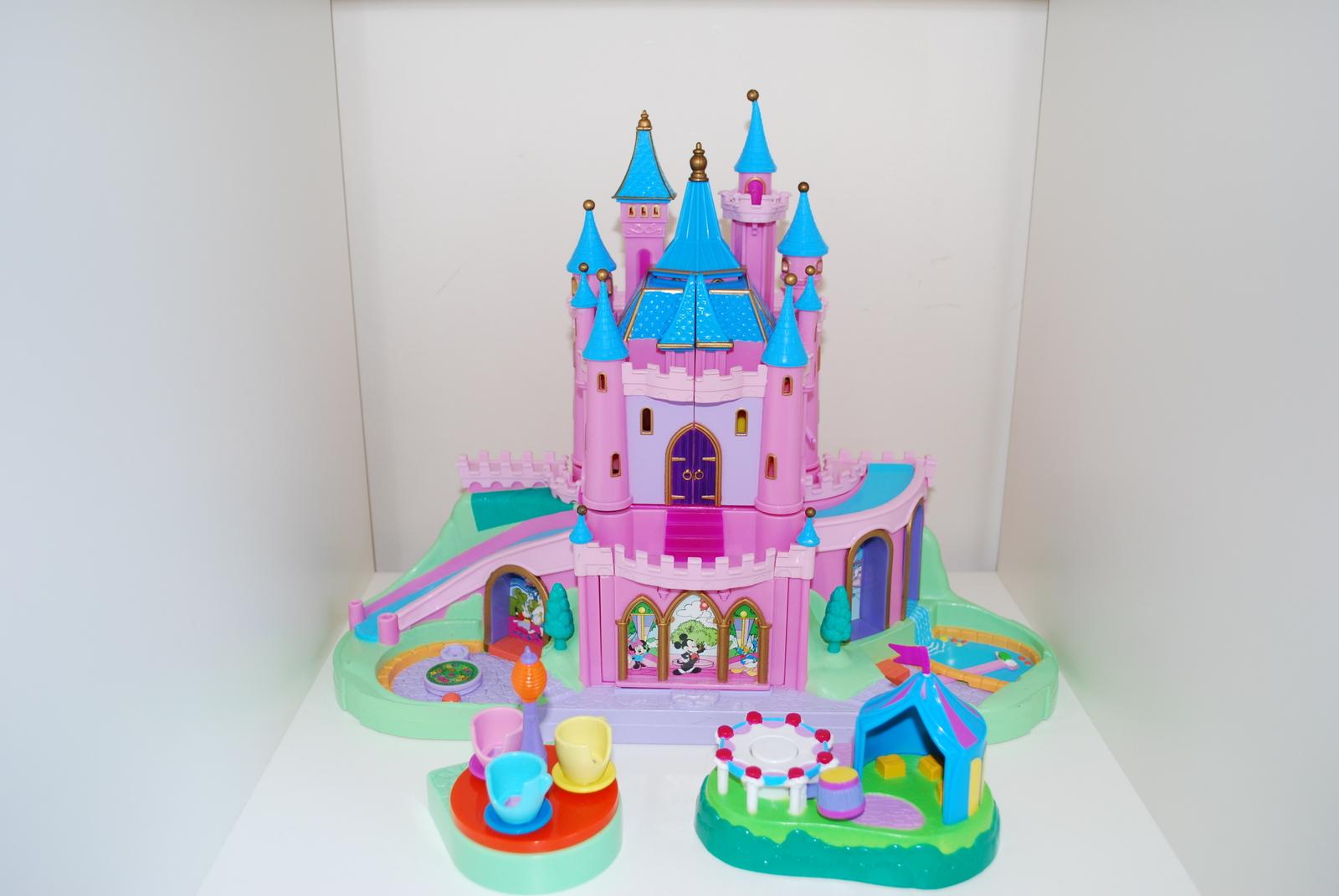 Polly Pocket Magic Kingdom Disney Castle Train Parts Replacement Pieces Teacups