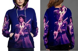 Prince Purple On Guitar Women's Hoodie - $44.80+