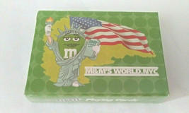 M&M`s RARE SEALED  Collectible Deck of Cards  World NYC  NEW M & M Playi... - $11.87