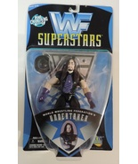 WWF Superstars Bone Crunching Action Undertaker wrestling figure ( WWE T... - $12.99